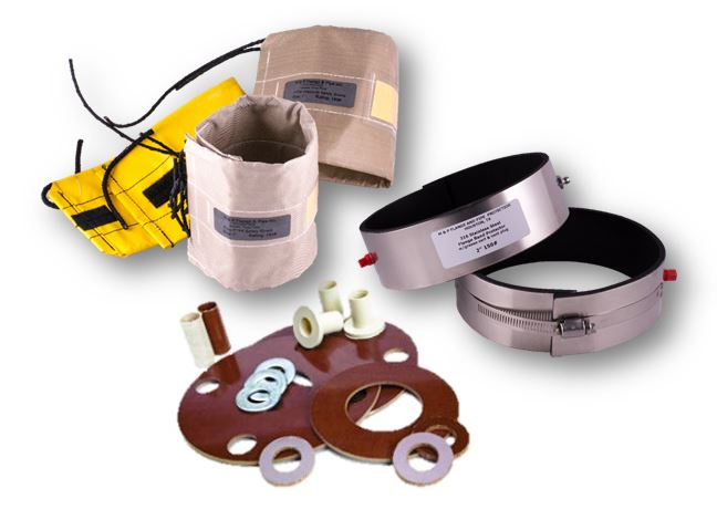 Flange Safety Spray Shields | Flange Protector Bands | Flange Isolating Gasket Kits